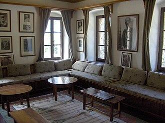 1912–1913 War Museum - Room of the headquarters at Emin Agha Inn (1912-1913 War Museum)