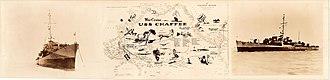USS Chaffee (DE-230) - War Cruise of USS Chaffee