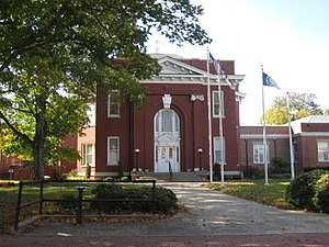 Warren County Courthouse in Warrenton