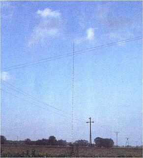 Warsaw radio mast former radio mast in Poland