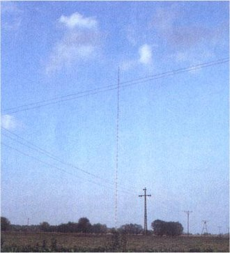 Warsaw radio mast - View from a distance (1989)
