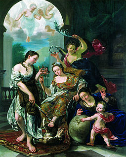 Jan Abel Wassenbergh 18th century painter from the Northern Netherlands