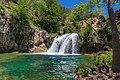Waterfall Trail on Fossil Creek (29985322392).jpg