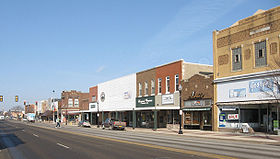 خط الأفق لـ Waverly, Iowa