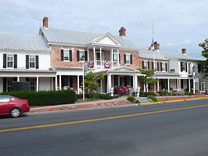 Middletown, Virginia - The Wayside Inn (1797) in Middletown, Virginia.