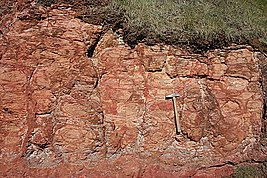 Weathering in Lateritic Rocks - geograph.org.uk - 474861.jpg