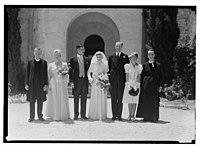 Wedding, Mr. Paton & Sister Sloan, June 23, '43 LOC matpc.14255.jpg
