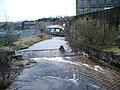 Weir on Colne Water, Waterside, Colne - geograph.org.uk - 671048.jpg