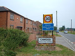 Welcome to Cawood - geograph.org.uk - 197539.jpg