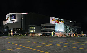 2016 Democratic National Convention - The Wells Fargo Center, the site of the 2016 Democratic National Convention