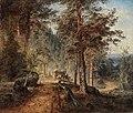 Werner Holmberg (1830–1860)- Road in Häme (A Hot Summer Day) - Maantie Hämeessä (Helteinen kesäpäivä) (29649636045).jpg