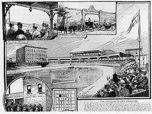 West Side Park - First West Side Park c. 1885