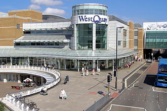 Westquay - The Arundel Circus entrance to Westquay North (before Westquay South)