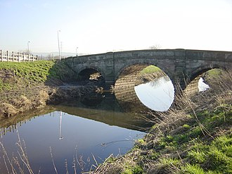Listed buildings in Mawdesley - Image: White Bridge geograph.org.uk 687080