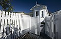 White house with wooden fence, Northcote Point, Auckland - 0121.jpg