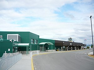 Erik Nielsen Whitehorse International Airport - Terminal building