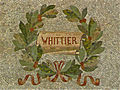 Whittier mosaic, honoring John Greenleaf Whittier - Jefferson Building, Library of Congress.jpg