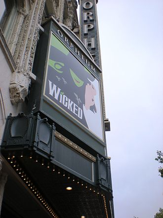 Wicked (musical) - Wicked ran at the Orpheum Theatre in San Francisco for almost two years.