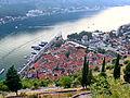 Widok z murów miejskich w Kotorze.jpg