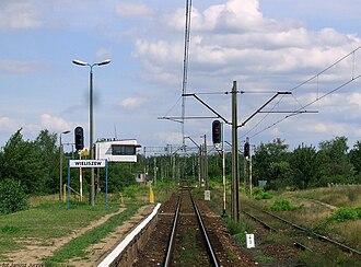 Wieliszew railway station - Image: Wieliszew