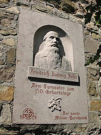 Friedrich Ludwig Jahn - Memorial in Vienna