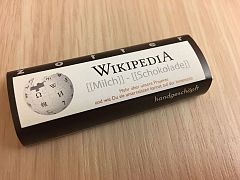 Wikimedia Hackathon 2017 - documentation sprint chocolate.jpg