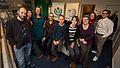 Wikimedia Nederland Employees in 2015.jpg