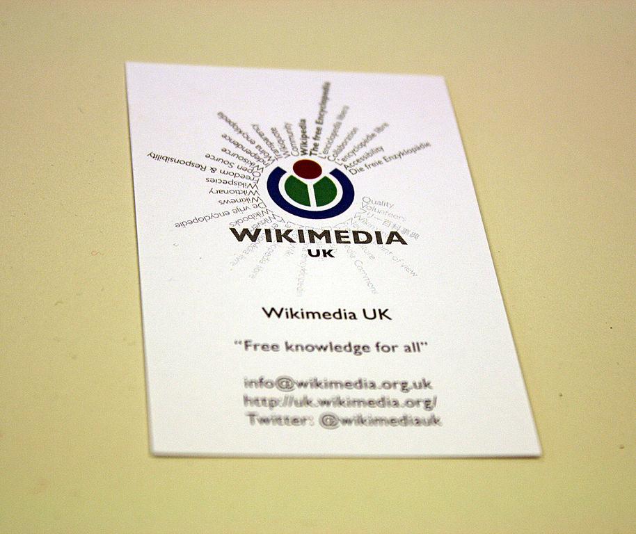 Visiting card Wikipedia - mandegar.info