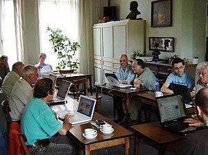 Esperanto Wikipedia - Image: Wikipedia training
