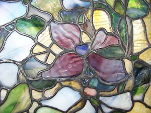 Tiffany glass - Opalescent glass