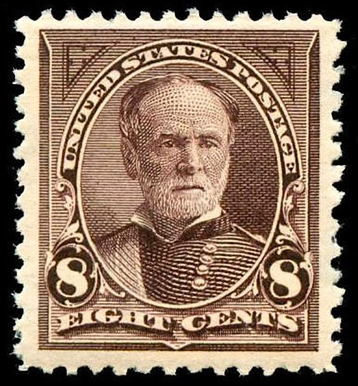 William Tecumseh Sherman 1895 issue-8c