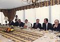 William Thayer en recepción junto a Sergio Fernández y Augusto Pinochet..jpg