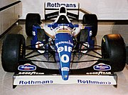 Williams FW16. During the 1994 season, Williams exclusively used version FW16B (developed still during the pre-season), in which Ayrton Senna's fatal crash occurred and Damon Hill came close to winning the season, his third year in Formula One