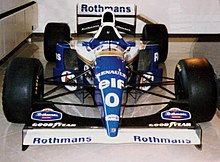 Photo de la Williams FW16B de Damon Hill