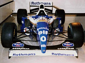Williams Grand Prix Engineering - Williams FW16B used in the second half of the 1994 season when Rothmans debuted as the team's primary backer