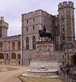 Windsor castle upper ward lawn Charles II.JPG