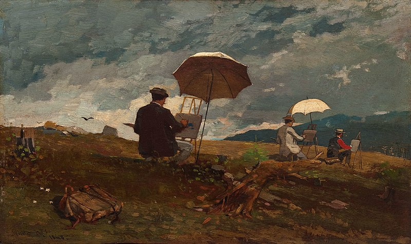 Plik:Winslow Homer - Artists Sketching in the White Mountains.jpg