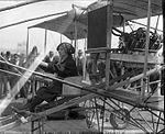 Woman in Crawford's Biplane Tacoma 1912.jpg
