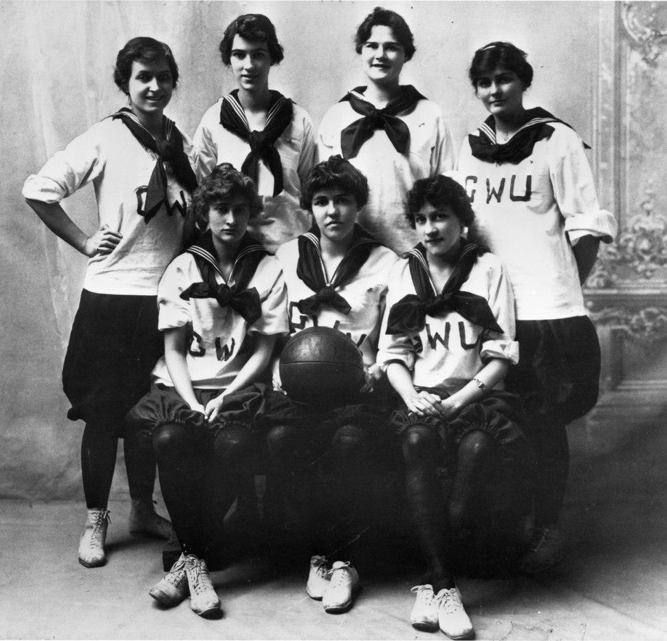 Women Basketball team - The George Washington University