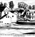 Woollen mill and residence in Moulinette, Ontario c. 1879.png