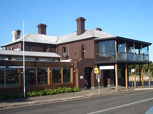 Woolwich, New South Wales - Image: Woolwich Hotel Sydney