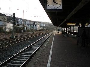 Wuppertal-Steinbeck station - Platform