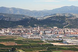 View of Xàtiva