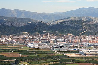 Xàtiva - View of Xàtiva