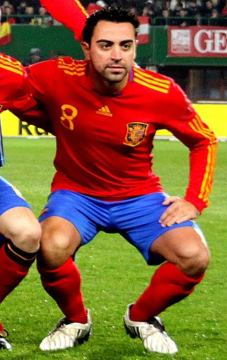 Xavi - Xavi at the 2010 FIFA World Cup.