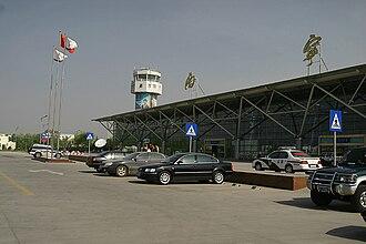 Xining Caojiabao International Airport - The airport terminal