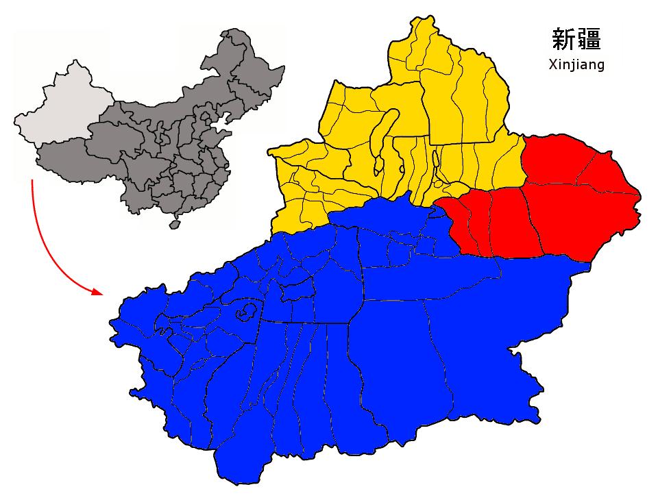 Xinjiang regions