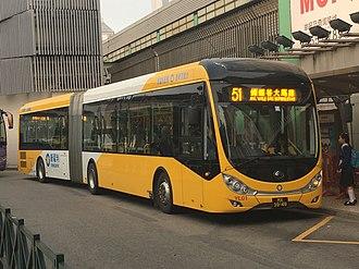 Transmac - Transmac articulated bus
