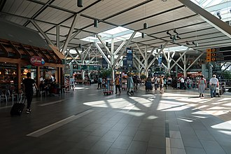 Vancouver International Airport - International departure hall