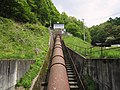 Yonezawa power station penstock.jpg